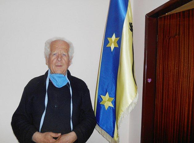 Ludvík Martínek, starosta, Ostrov nad Oslavou