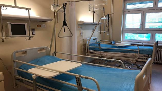 Nové nemocniční oddělení je připraveno přijmout první pacienty