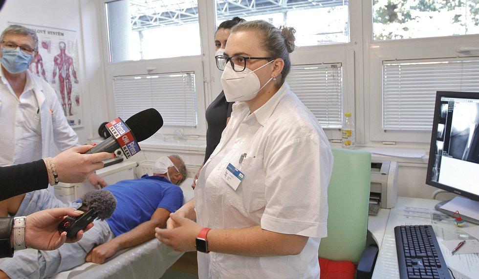 Kemp mediků, který pořádá Nemocnice Pelhřimov.