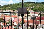 Výhled z věže kostela svatého Mikuláše ve Velkém Meziříčí