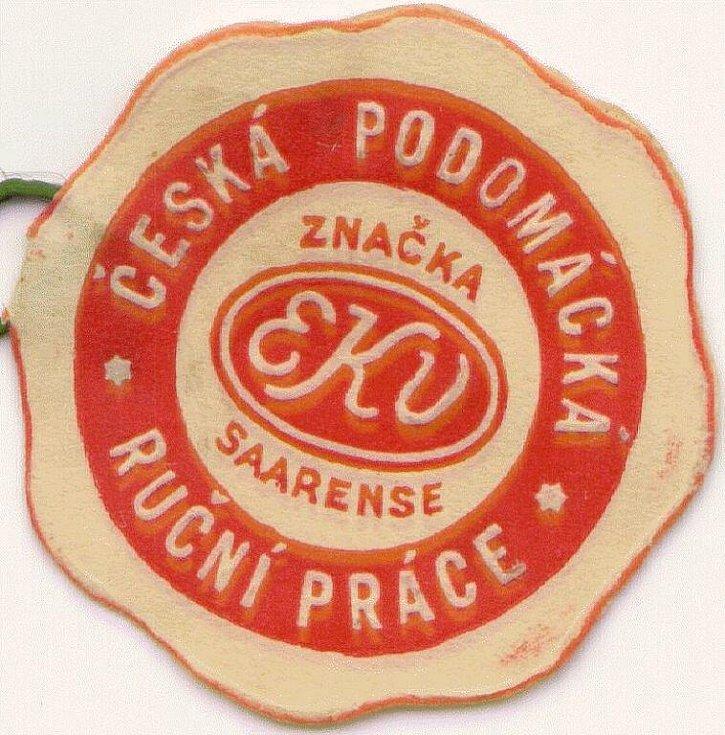 Vavřín Krčil (1895 – 1968) prodával síťovky pod obchodní značkou Saarense (EKV)