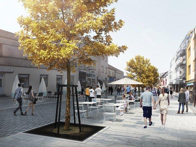 Na prvním místě v architektonické soutěži na nový vzhled Nádražní ulice skončil tým architektů ve složení Rudolf Grimm, Martina Grimmová, Oliver Kálnássy a Vladimír Fialka.