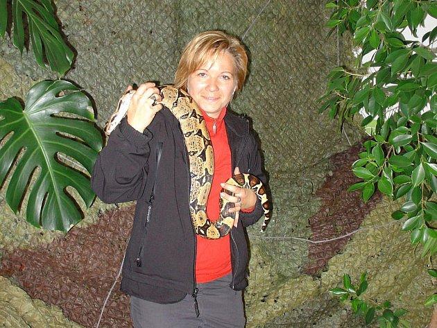 Tváří v tvář plazům, pavoukům a hmyzu stanuli ti, kteří o víkendu navštívili Středisko ekologické výchovy Ostrůvek ve Velkém Meziříčí.