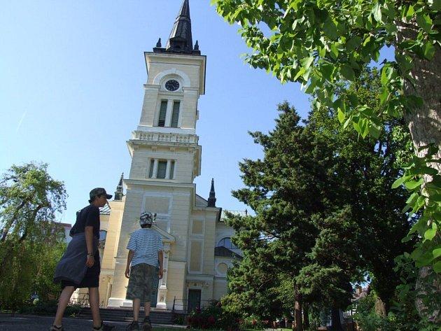 Kostel farního sboru Českobratrské církve evangelické v Novém Městě na Moravě.