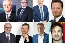 Osm politiků z Kraje Vysočina se účastnilo netradiční předvolební debaty Deníku