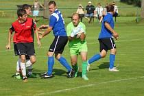Fotbalisté Křižanova dostali na vlastním hřišti pět gólů.