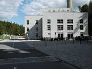 Areál v lokalitě Borovina po revitalizaci.
