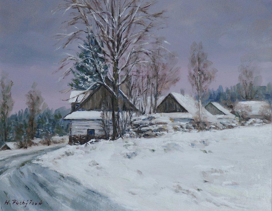 Zima na Kadově