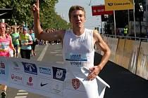 Nejrychlejším Čechem v cíli byl novoměstský Petr Vitner.