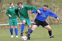Fotbalisté Křoví dokázali v domácím utkání porazit nebezpečnou Borovinu a patří jim druhé místo v tabulce za vedoucími Čáslavicemi.