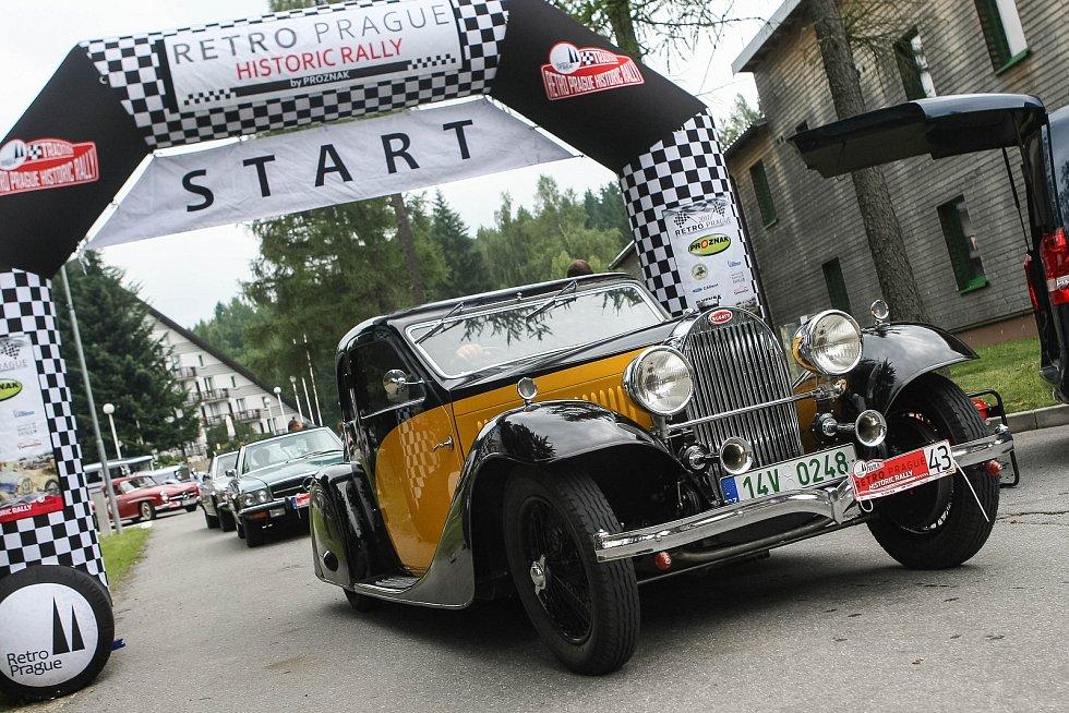 Retro Prague Historic Rally.
