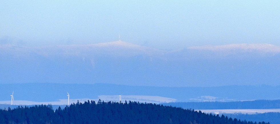 Pasecká skála nabízí unikátní výhled do krajiny.
