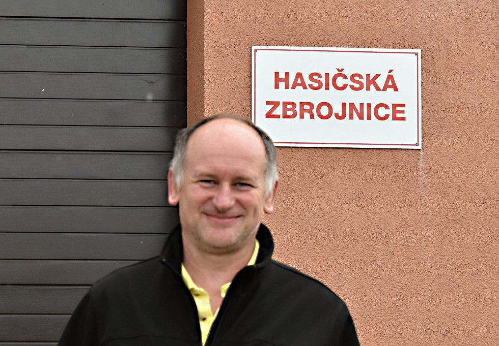 Starosta SDH Obyčtov Jaroslav Juda.
