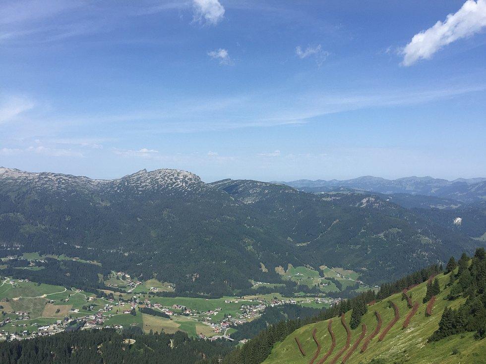 Lyžařská oblast Fellhorn Kleinwalsertal