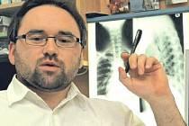 Ortoped Radek Černý.