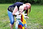 Dvouletý Honzík má Westův syndrom. Rodiče o něj musí celodenně pečovat.