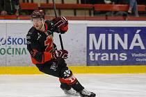 Útočník Petr Štěpánek je hlavní střeleckou jistotou žďárských hokejistů v této sezoně.