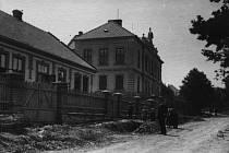Bítešská hospodářská škola v roce 1912.