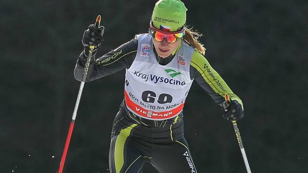 Adéla Boudíková vstoupila, po pro ni rekordně dlouhých čtyřech týdnech vysokohorského tréninku, do seriálu Ski Classics umístěním v nejlepší desítce.