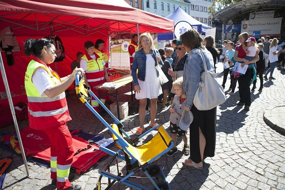 Den záchranářů doprovázelo krásné, slunečné počasí.