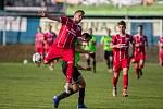 Fotbalové utkání MSFL Mezi SFK Vrchovina a FC Dolní Benešov.