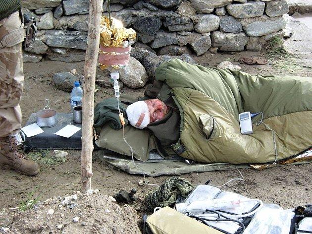 Válečný veterán Miloš Prášil musel bojovat oholý život