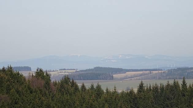 Luboš Korbář nafotil pohled z Kočího kopce.