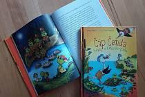 Knížka nazvaná Čáp Čenda s podtitulem Pohádky od Kuňkavého rybníka je už na pultech knihkupců.