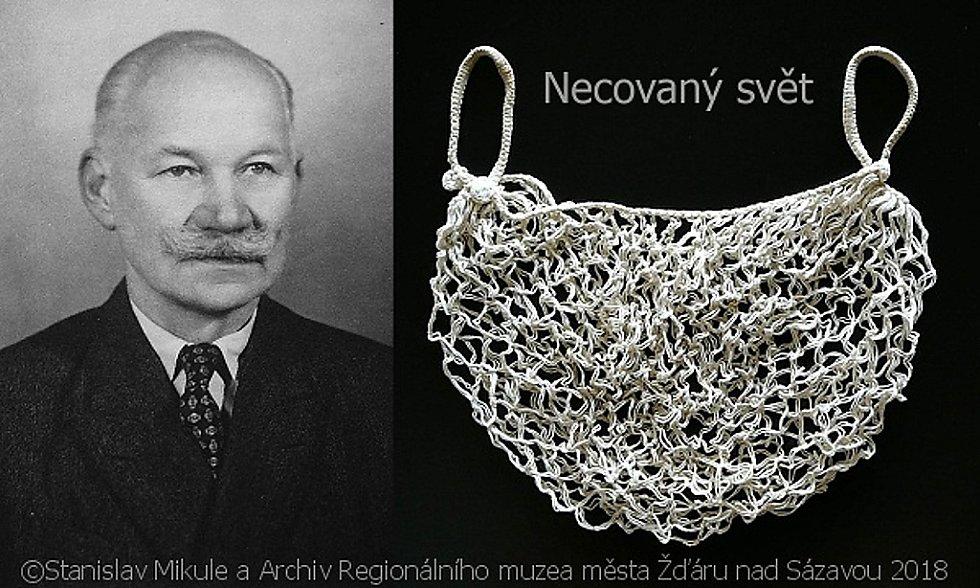 Vynálezce síťovky Vavřín Krčil.