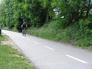 Cyklostezka Sázava – Přibyslav.