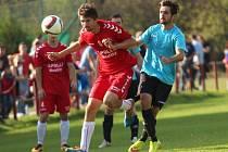 Divizní nováček z Velké Bíteše na půdě favorita z Uherského Brodu nepřekvapil a potvrdil, že venkovní zápasy mu zatím výsledkově nevychází.