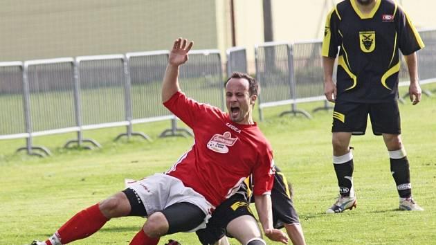 Bohdalov dvěma góly za šest minut obrátil vývoj utkání se Starčí.