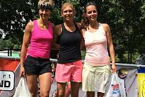 Nultý ročník Aquatlonu Vysočina - závodu kombinujícího plavání a běh - vyhrála v ženské kategorii Kateřina Ryšávková před Kateřinou Polívkovou a Adrianou Gregr.