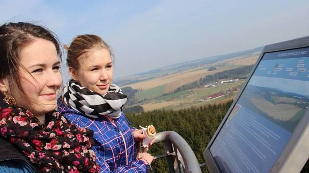Zahájení turistické sezony na Rosičce.