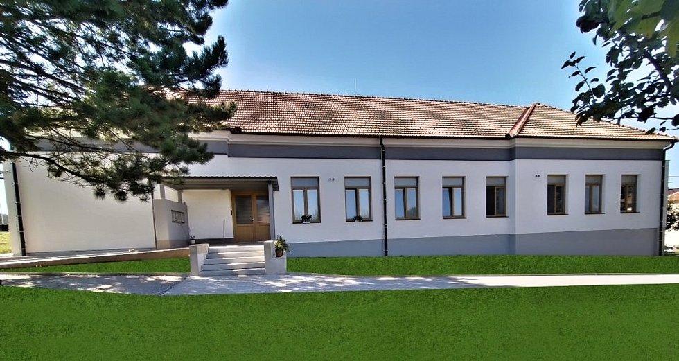 Úpravy budovy bývalé základní školy Římov na bytový dům
