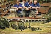 Modelové království začalo v suterénu žďárského kulturního domu vznikat před zhruba devatenácti měsíci. Veřejnosti bylo poprvé představeno před rokem.