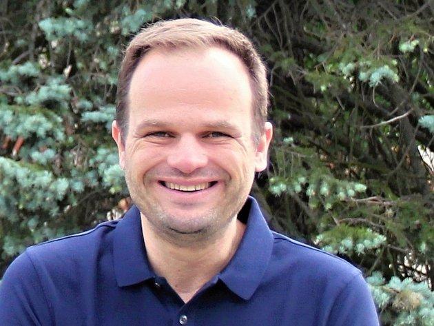 První muž novoměstské radnice Michal Šmarda.