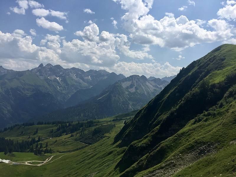 Na vrchol hory Fellhorn