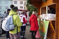 V Novém Městě na Moravě už pořádají farmářské trhy i v zimě.