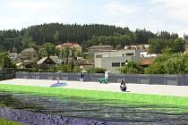Protipovodňová opatření by byla spjata se vznikem odpočinkové zóny podél řeky