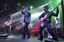 Chinaski v sobotu zahájili ve Velkém Meziříčí tuzemské turné čítající 15 koncertů.