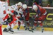 Ve čtvrtek se hrály třetí zápasy čtvrtfinálové série play-off druhé hokejové ligy. V krajském derby využili domácího prostředí brodští Bruslaři, kteří proti Žďáru nad Sázavou získali mečbol.