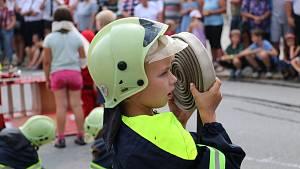 Novoměstští hasiči zorganizovali velkolepé oslavy. Slavilo se 140. výročí