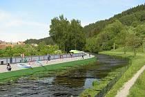 Pokud by se Jimramovským podařilo zrealizovat svoji vizi protipovodňových opatření, výrazně by to změnilo vzhled řeky.