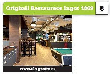 Originál Restaurace Ingot 1869