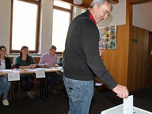 Referendum ve Velkém Meziříčí mělo své vlastní volební místnosti.