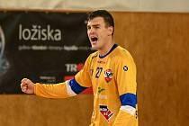 Gólman Vít Schams byl hlavním strůjcem sobotní výhry extraligových házenkářů Nového Veselí 32:26 nad celkem KP Brno.