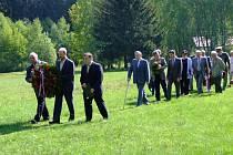 Den osvobození si v Cikháji připomněly desítky lidí