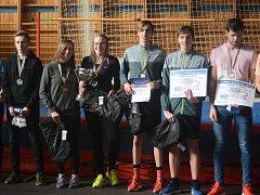 Gymnazisté z Nového Města na Moravě zvítězili v Kolíně na skokanském poháru.