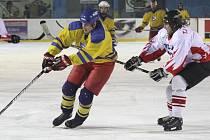 Hokejisté Řečice dostali od Veverské Bítýšky deset gólů.